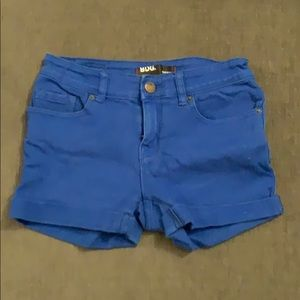 PERFECT CONDITION cute royal blue jean shorts